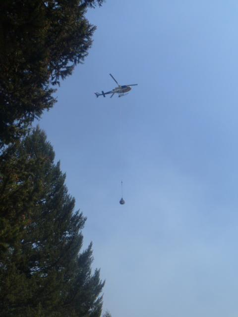 Gov. Bullock is hopeful upcoming talks will help clear the way to allowing Montana DNRC helicopters to work fires on federal lands.