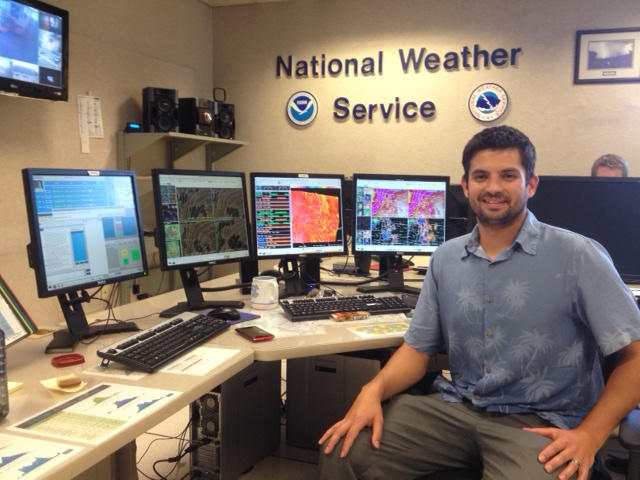 Luke Robinson, National Weather Service Meteorologist