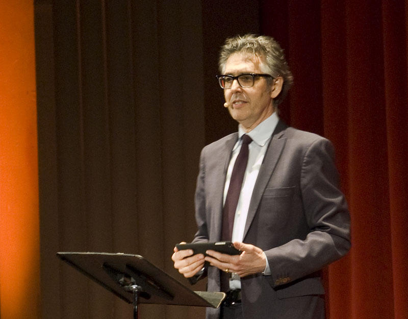 Ira Glass talked storytelling in Missoula Saturday Sep. 12.