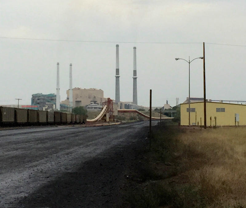 Colstrip coal mine.