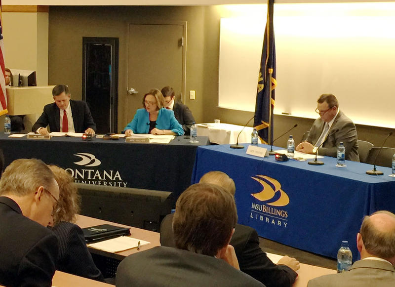 The U.S. Senate Committee on Commerce, Science and Transportation held a field hearing at Montana State University Billings on pipeline safety as part of the reauthorization of the federal agency that oversees pipelines and hazardous materials.