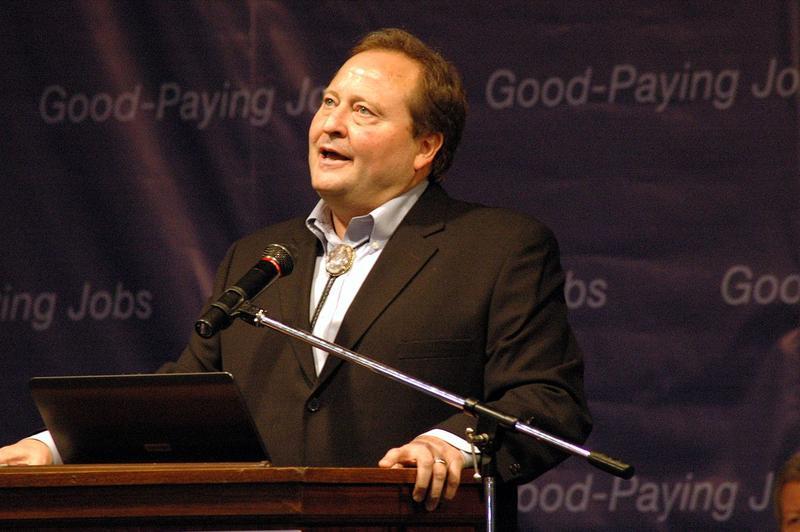Former Montana Governor Brian Schweitzer.