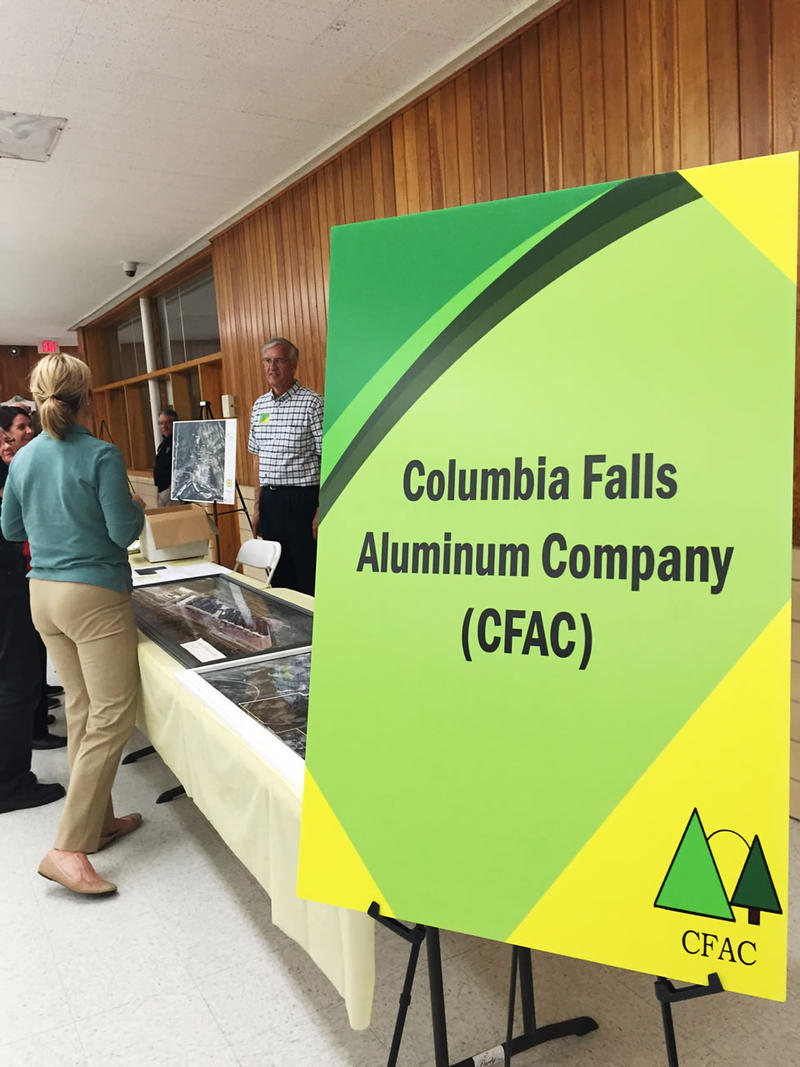 The Environmental Protection Agency announced an agreement today about the clean-up of the Columbia Falls Aluminum Plant.