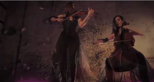 Duo W -- Arianna Warsaw-Fan, violin; Meta Weiss, cello