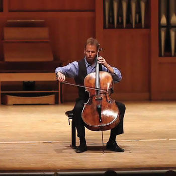 Gregory Sauer, cello soloist