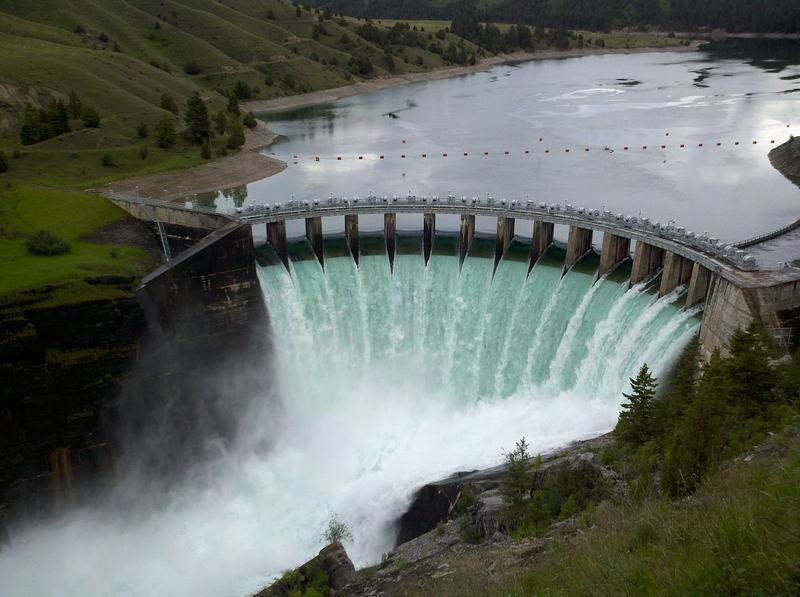 Seli'š Ksanka Qlispe' Dam, formerly Kerr Dam