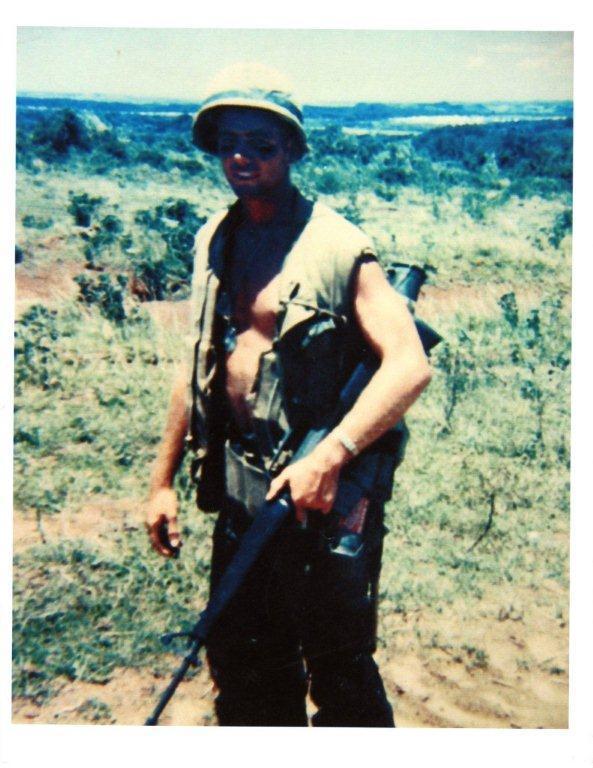 Roger Cox in Vietnam.