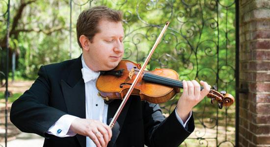 Yuriy Bekker, violin soloist