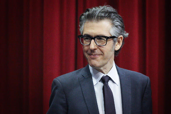 Ira Glass onstage in Missoula, MT.