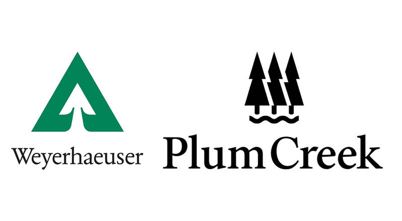 The $8 billion merger between Weyerhaeuser & Plum Creek was announced last November.