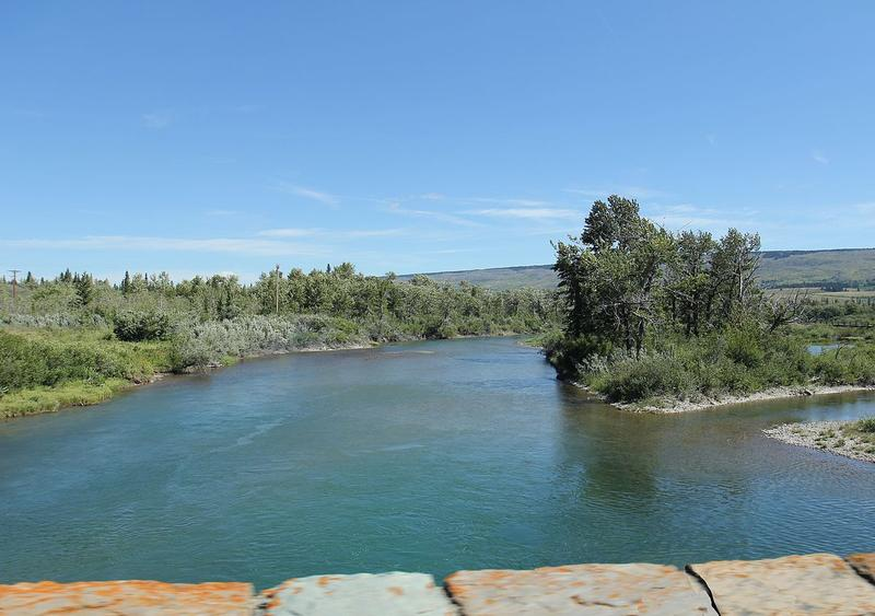St. Mary River.