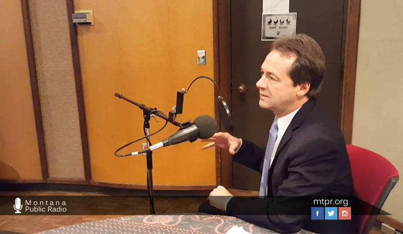 Governor Bullock talks about UM's budget problems and the state's surplus during an interview with MTPR News Director Eric Whitney.