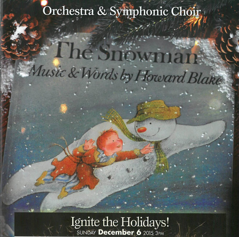 The Snowman: Music & Words by Howard Blake