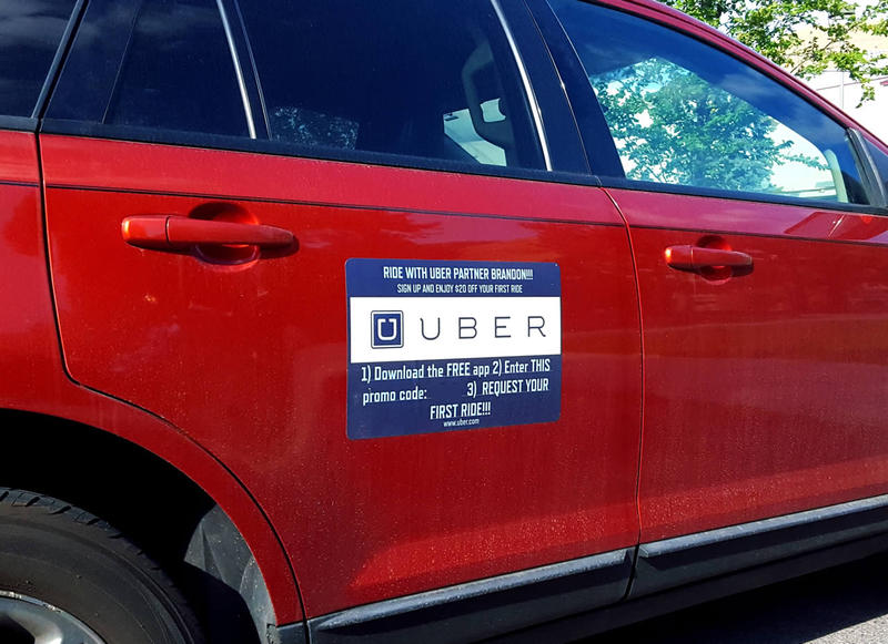 This Uber car has been seen around Missoula since this fall.