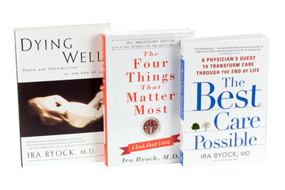 "Dr. Ira Byock is the Author of ""Dying Well"", ""The Four Things That Matter Most"", and ""The Best Care Possible""."