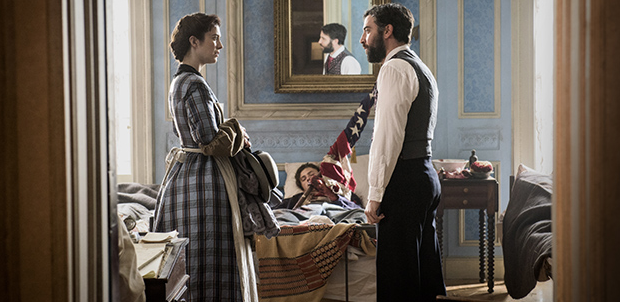 Mercy Street Actors  Mary Elizabeth Winstead (Mary Phinney)  and Josh Radnor (Dr. Jedediah Foster)