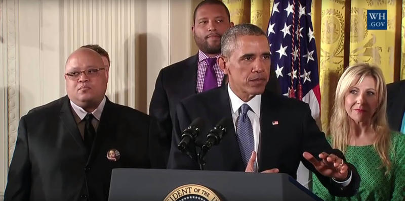 President Obama talks about executive actions to reduce gun violence.