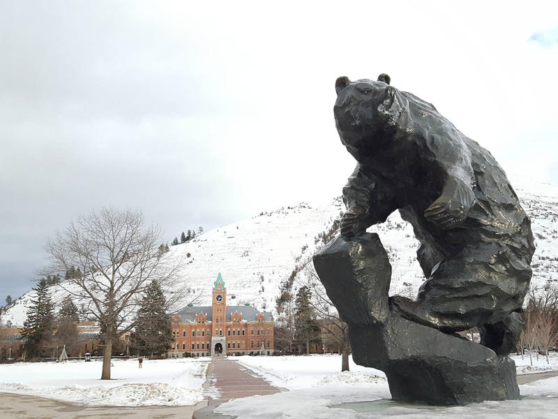 The University of Montana campus.
