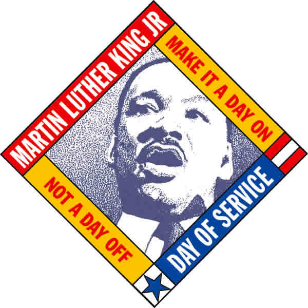 Monday, many volunteer events around the state will be taking place to honor Dr. King's legacy.