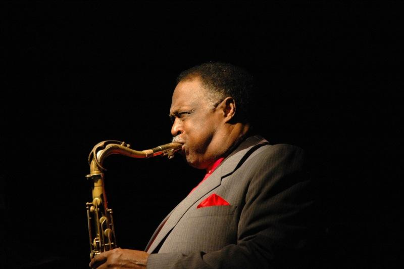 Houston Person on the sax in 2006.