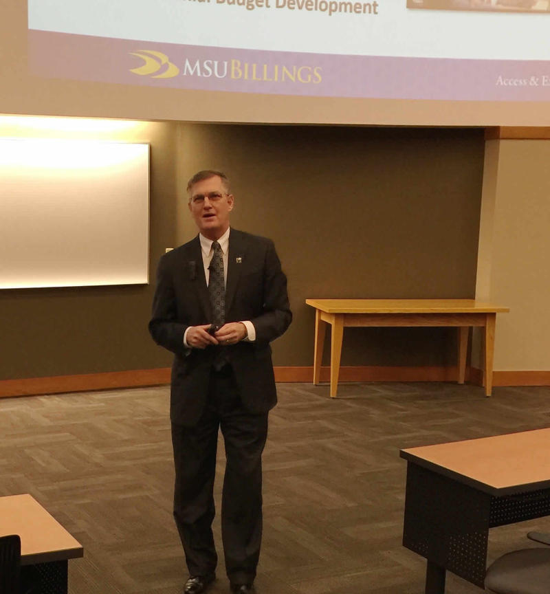 MSU-Billings Chancellor Mark Nook says the money will be invested in recruitment and retention of students.