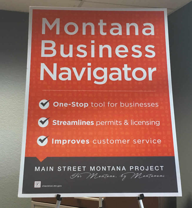 Governor Steve Bullock held an event to talk about a new online tool to help start-up businesses and entrepreneurs more easily find their way through the state's rules and permitting processes.
