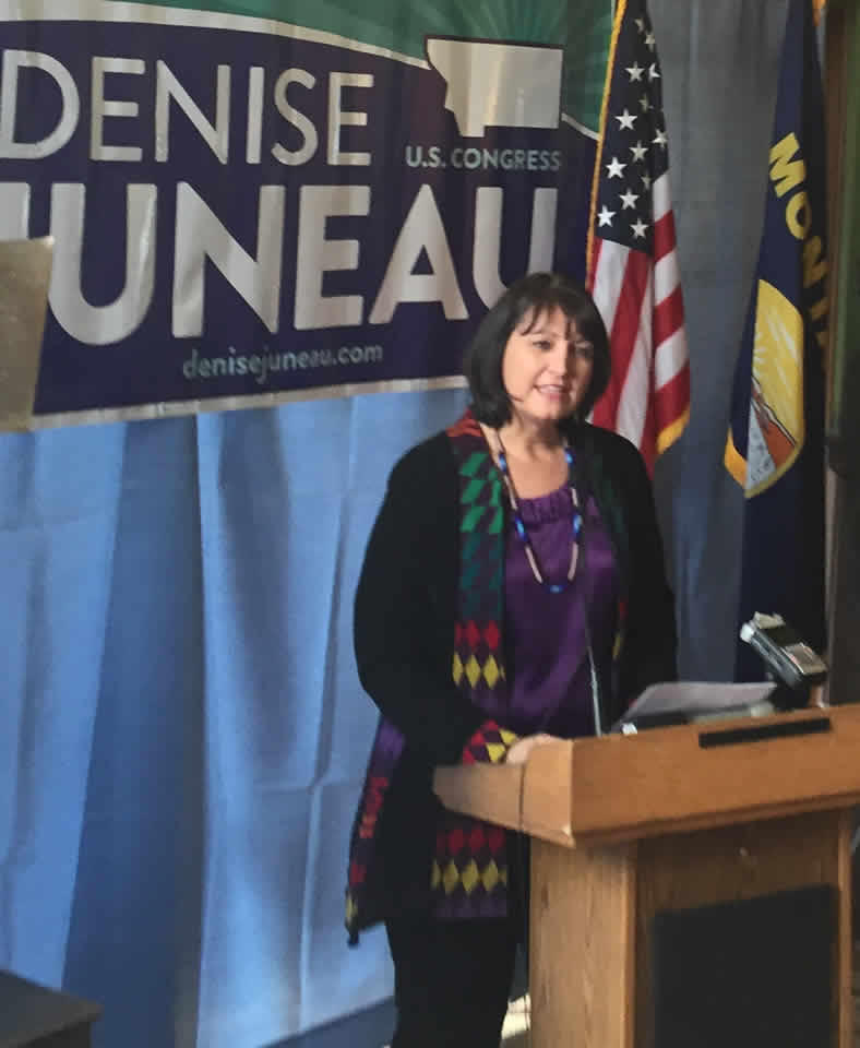 Denise Juneau Officially Joins U.S. House Race