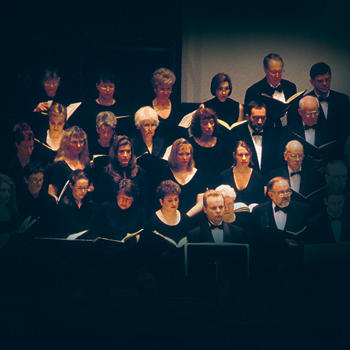 The Missoula Symphony Chorale, directed by Dean Peterson