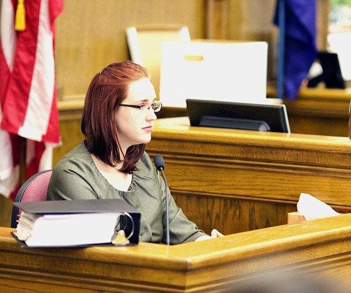 The testimony of Sarah Arnold resumed in the Wittich campaign practices trial, revealing inner workings of the National Right to Work campaign operation in MT.