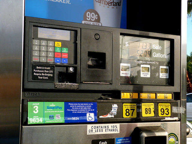 The bill would raise the state's tax on gas by 8 cents a gallon and on diesel by 7.25 cents a gallon.
