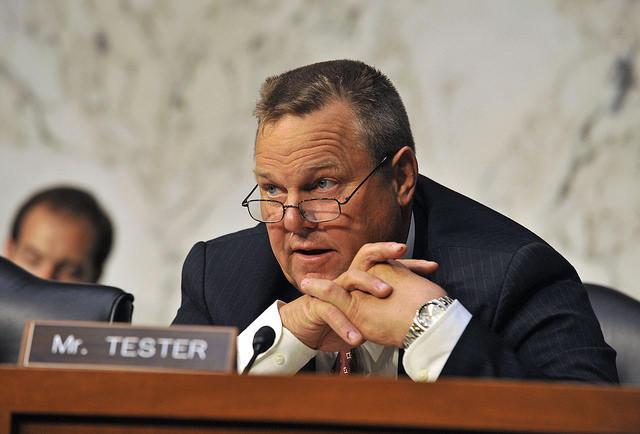 Montana Senator Jon Tester.
