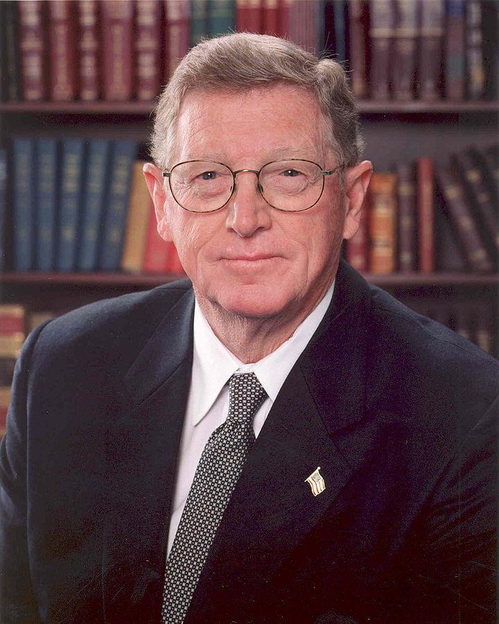 Conrad Burns, Former Montana Senator.