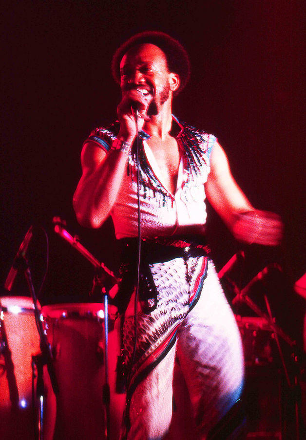 Maurice White performing with Earth, Wind, and Fire at the Ahoy Rotterdam; 1982