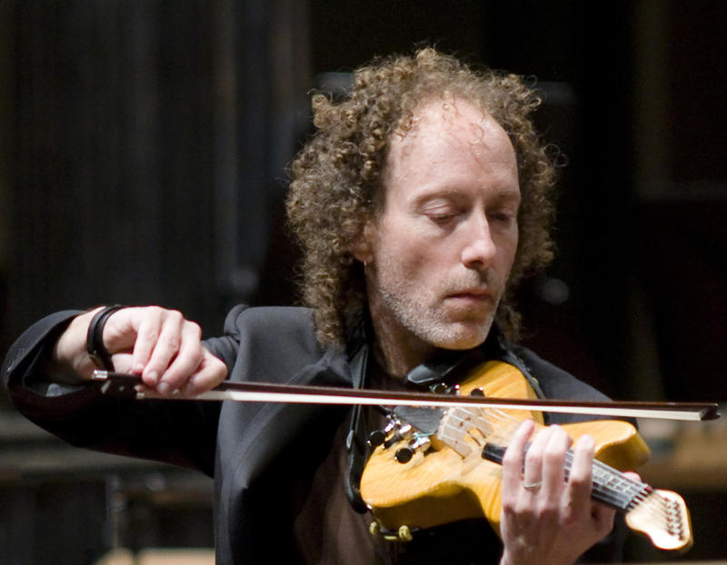 Violinist Tracy Silverman