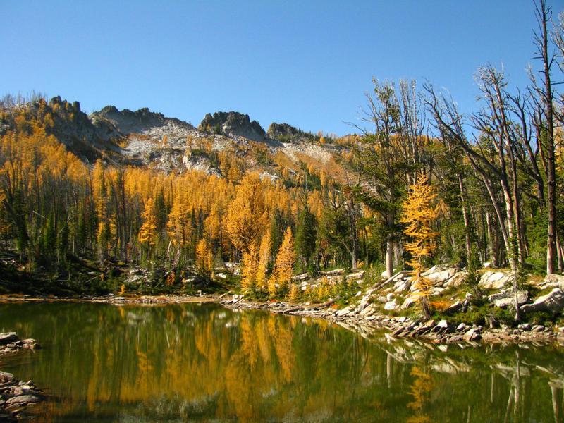 Glen Lakes, Bitterroot Mountains, Montana, autumn 1998