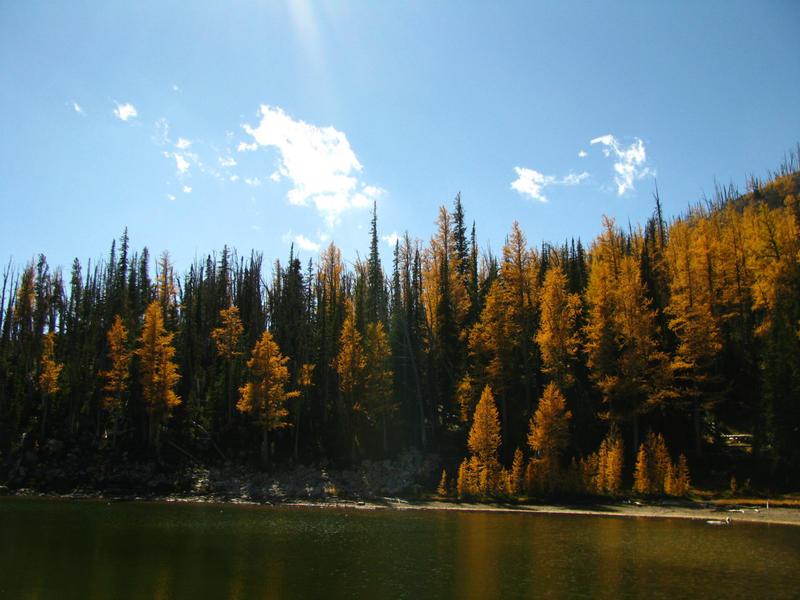 Glen Lakes, Bitterroot Mountains, Montana, autumn 2004