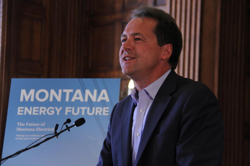 Gov. Steve Bullock unveiled his energy plan Tuesday.
