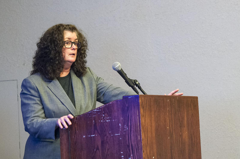 Ann Sherwood manages a new program on the Flathead Reservation aimed at keeping former inmates out of prison.