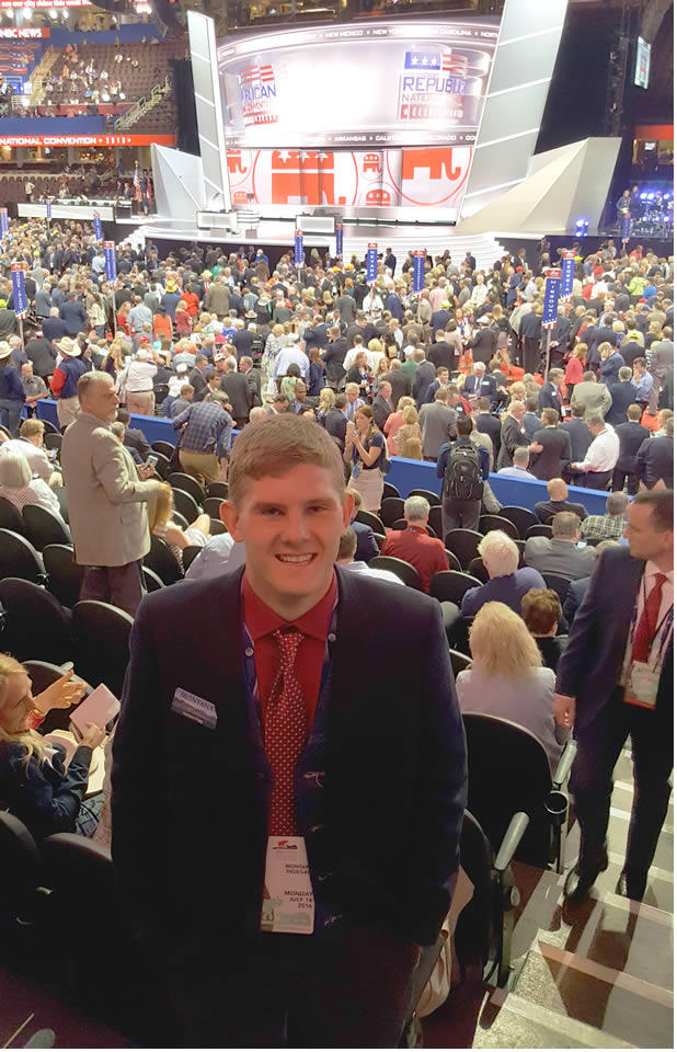 Harrison Fagg is a Montana delegate to the GOP convention from Billings.