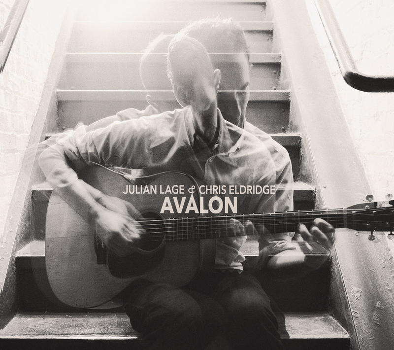 "Cover art for ""Avalon"" by Julian Lage & Chris Eldridge."