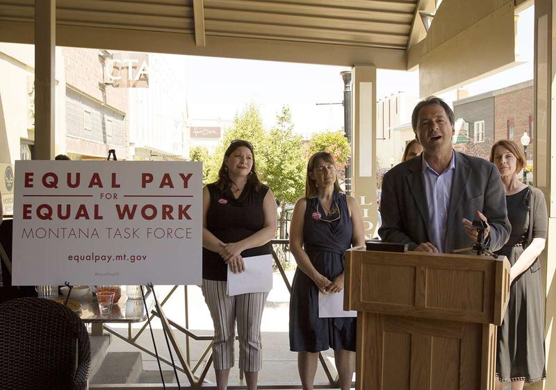 Governor Steve Bullock signed an executive August 01, 2016 promoting the work of his Equal Pay for Equal Work Task Force.
