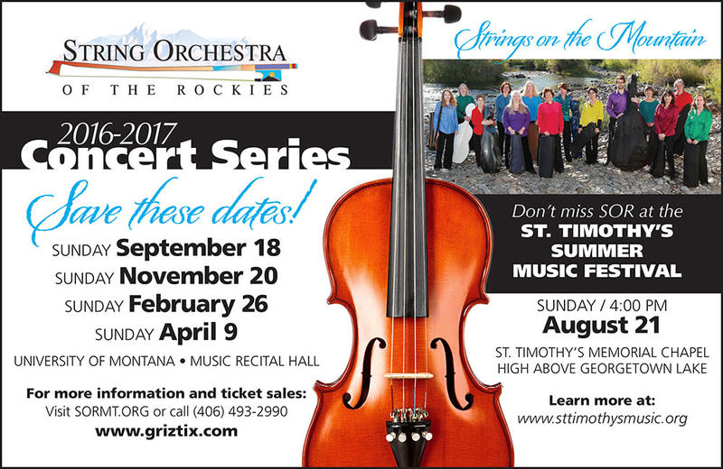 String Orchestra Of The Rockies Prepares For Their 32nd Season