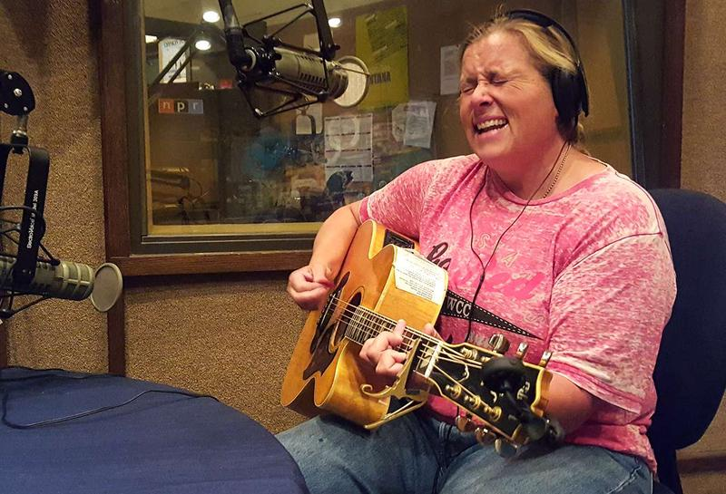 Susan Gibson plays live on Montana Public Radio, August 23, 2016.