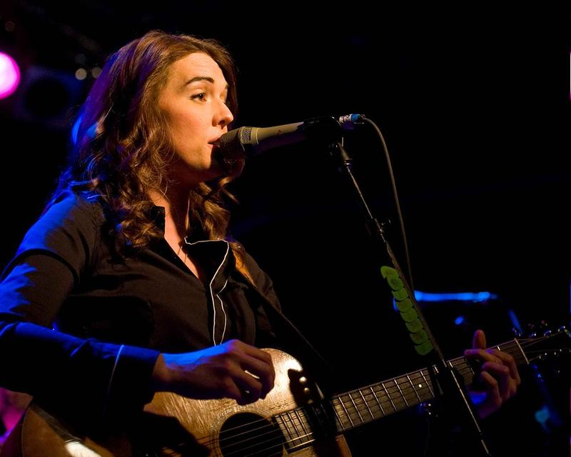 Brandi Carlile on stage in 2010.