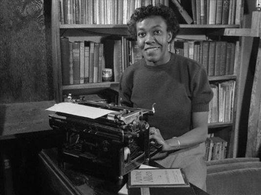 Pulitzer Prize-winning poet, Gwendolyn Brooks