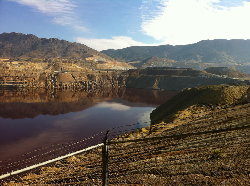 Berkeley Pit in Butte, MT