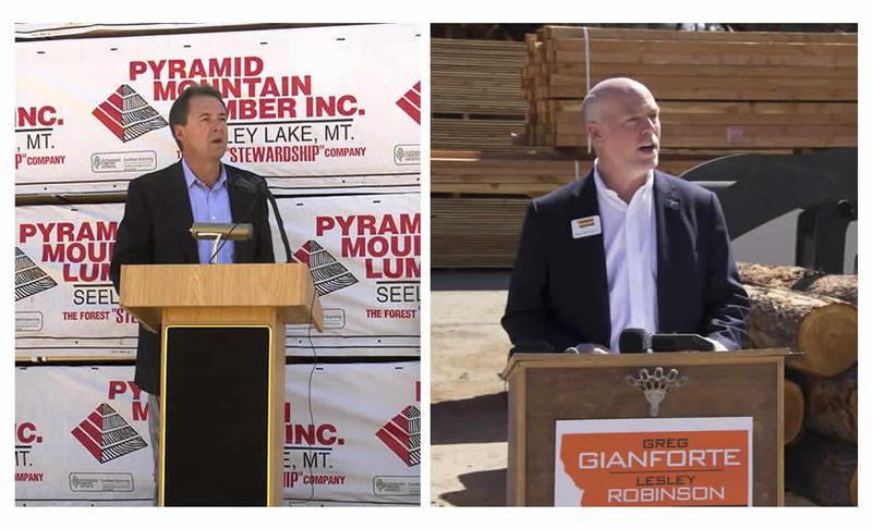 Listen to Montana gubernatorial candidates Steve Bullock and Greg Gianforte's debate from Saturday October 08, 2016.