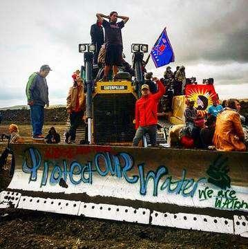 The protests against the Dakota Access Pipeline near the Standing Rock Indian Reservation in North Dakota are drawing hundreds of people from across the country, including Montana's Indian reservations.