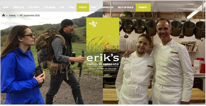 Erik's Ranch website screen capture. At Erik's Ranch, about half a dozen young adults with autism spectrum disorders live and work in a supportive community and have jobs like chef, guide, and concierge.