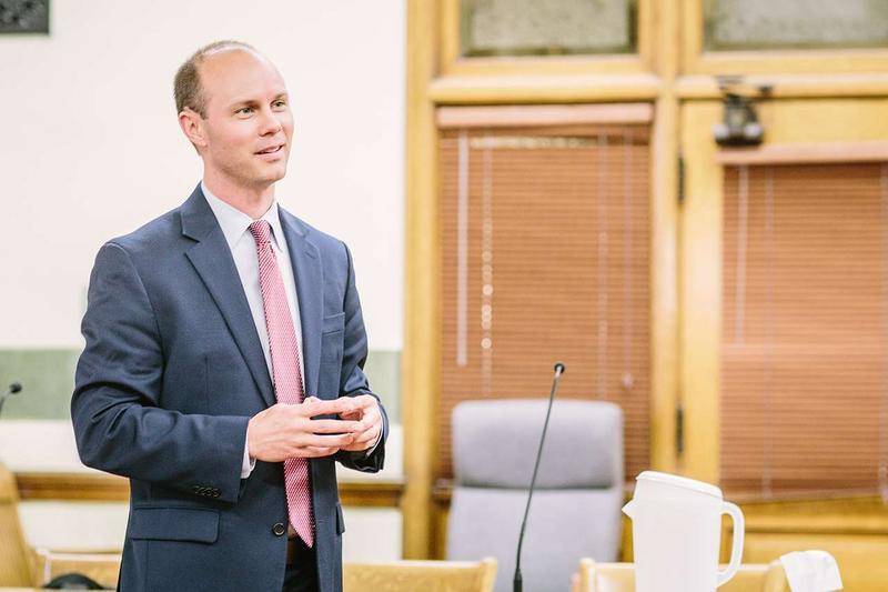 State auditor candidate Jesse Laslovich.
